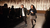 Humberto Leon and Carol Lim designers and coowners of Opening Ceremony attend the Opening Ceremony show during MercedesBenz Fashion Week Fall 2014 on...
