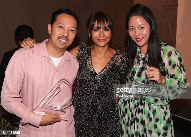 Humberto Leon Rashida Jones and Carol Lim attend the Daily Front Row's Fashion Media Awards at Four Seasons Hotel New York Downtown on September 8...