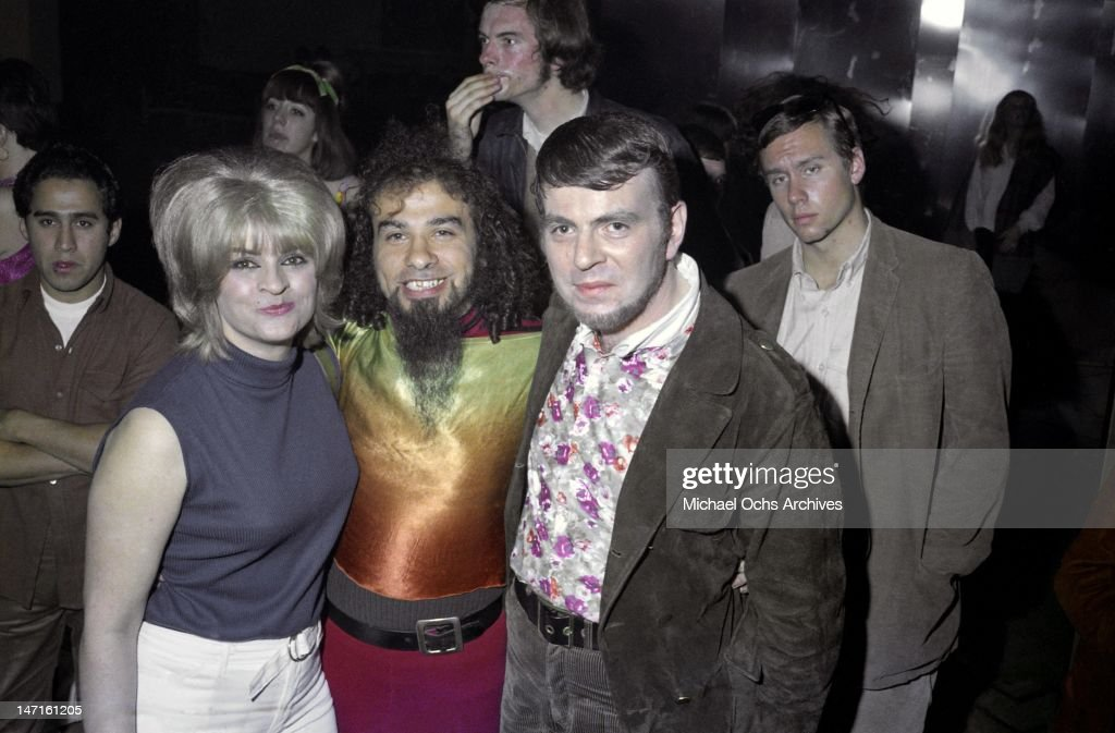 Humble Harve (right) attends an Iron Butterfly concert at the Cheetah (formally Aragon Ballroom) located on Lick Pier on January 5, 1968 in Santa Monica, California.