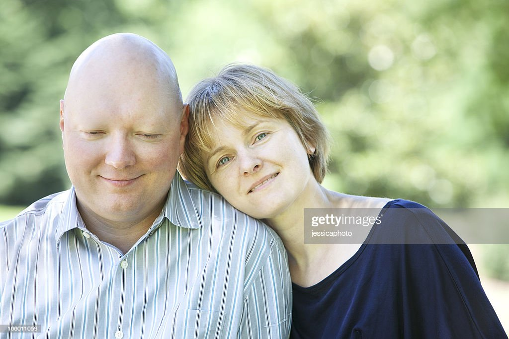 Humble Man with Cancer and His Wife