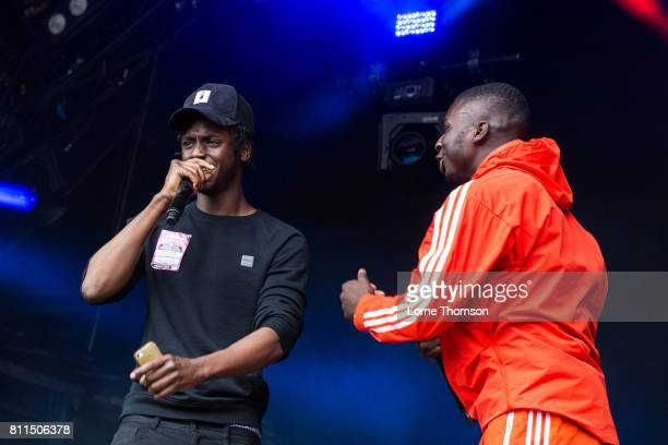Abra Cadabra performs during Day 3 of the Wireless Festival at Finsbury Park on July 9 2017 in London England