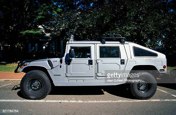 Hummer H1 Parked on Street