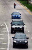 Hummer manufactured by General Motors Corp is driven in traffic June 2 2009 in Miami Florida Reports indicate that GM has an agreement to sell its...
