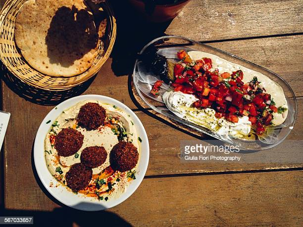 Hummus, Falafel and Baba Ganoush