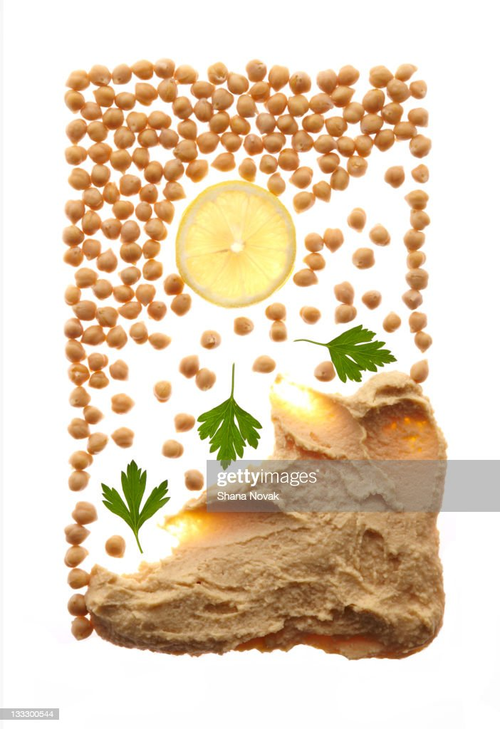 Hummus From Scratch Recipe : Stock Photo