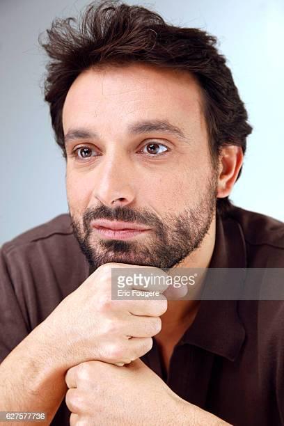 Humorist and Actor Bruno Salomone Photographed in PARIS