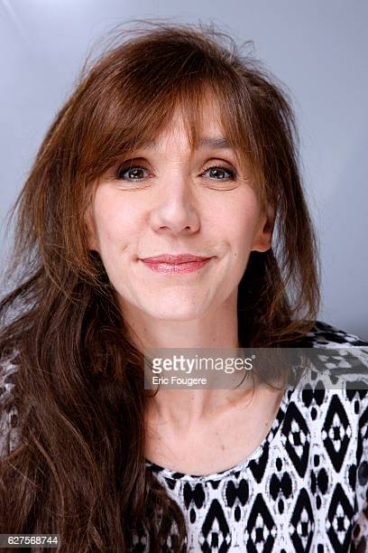 Humorist and Actress Virginie Lemoine Photographed in PARIS