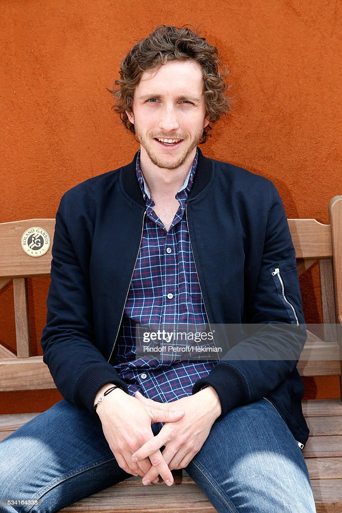 Humorist Baptiste Lecaplain attends the 2016 French Tennis Open - Day Four at Roland Garros on May 25, 2016 in Paris, France.