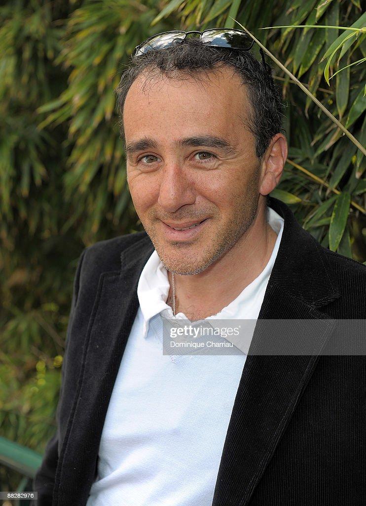 Humorist Elie Semoun attends The French Open 2009 at Roland Garros Stadium on June 7, 2009 in Paris, France.