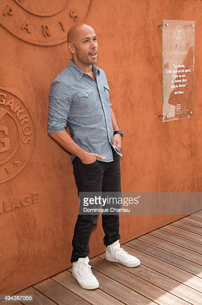 Humorist Eric Judor attends the Roland Garros French Tennis Open 2014 Day 5 on May 29 2014 in Paris France