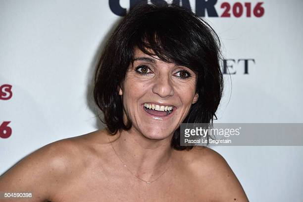 Humorist Florence Foresti attends the 'Cesar Revelations 2016' Photocall And Cocktail Dinner on January 11 2016 in Paris France