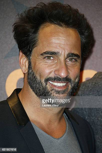 Humorist Florent Peyre attends the 20th L'Alpe D'Huez International Comedy Film Festival Opening Ceremony on January 17 2017 in Alpe d'Huez France