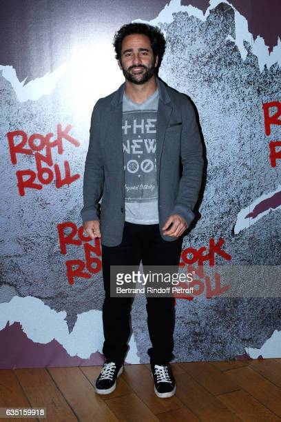 Humorist Florent Peyre attends the 'Rock'N Roll' Premiere at Cinema Pathe Beaugrenelle on February 13 2017 in Paris France