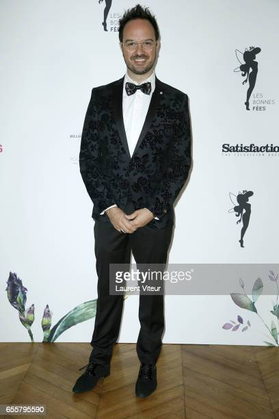 Humorist Jarry attends 'Les Bonnes Fees' Charity Gala at Hotel D'Evreux on March 20 2017 in Paris France