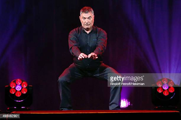 Humorist JeanMarie Bigard performs in his One Man Show 'Bigard Fete Ses 60 Ans' at Le Grand Rex on May 23 2014 in Paris France