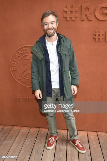 Humorist Jonathan Lambert attends the 2017 French Tennis Open_Day Eleven at Roland Garros on June 7 2017 in Paris France