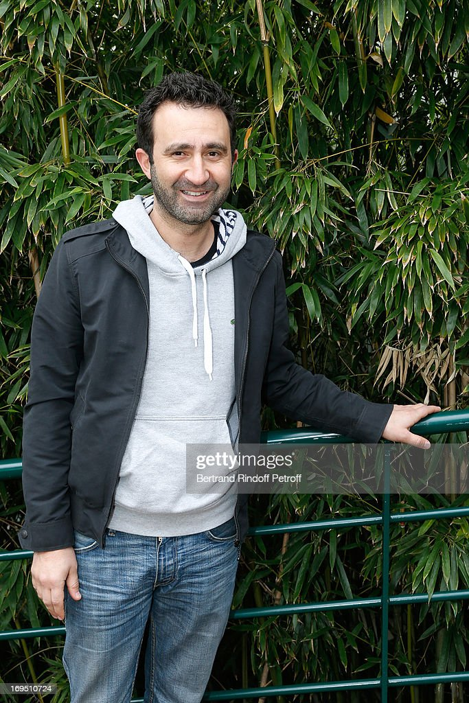 Humorist Mathieu Madenian attends Roland Garros Tennis French Open 2013 - Day 1 on May 26, 2013 in Paris, France.