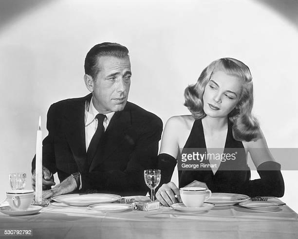 Humphrey Bogart and Lizabeth Scott in Columbia's Dead Reckoning 1947