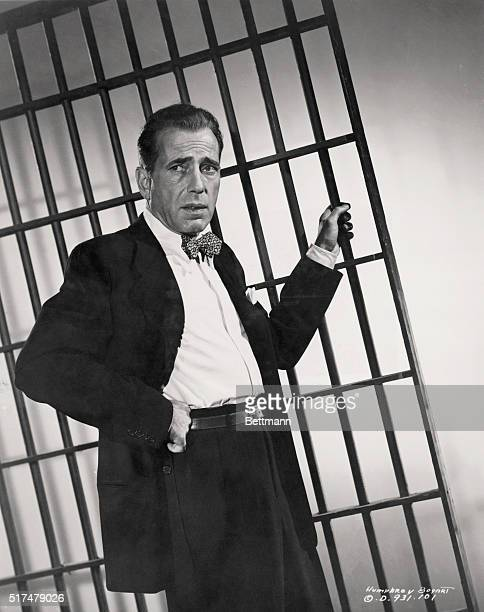 Humphrey Bogart as attorney Andrew Morton in the 1949 film noir Knock on Any Door