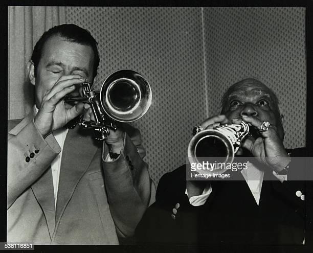 Humphrey Lyttelton and Sidney Bechet at Colston Hall Bristol 1956 Artist Denis Williams