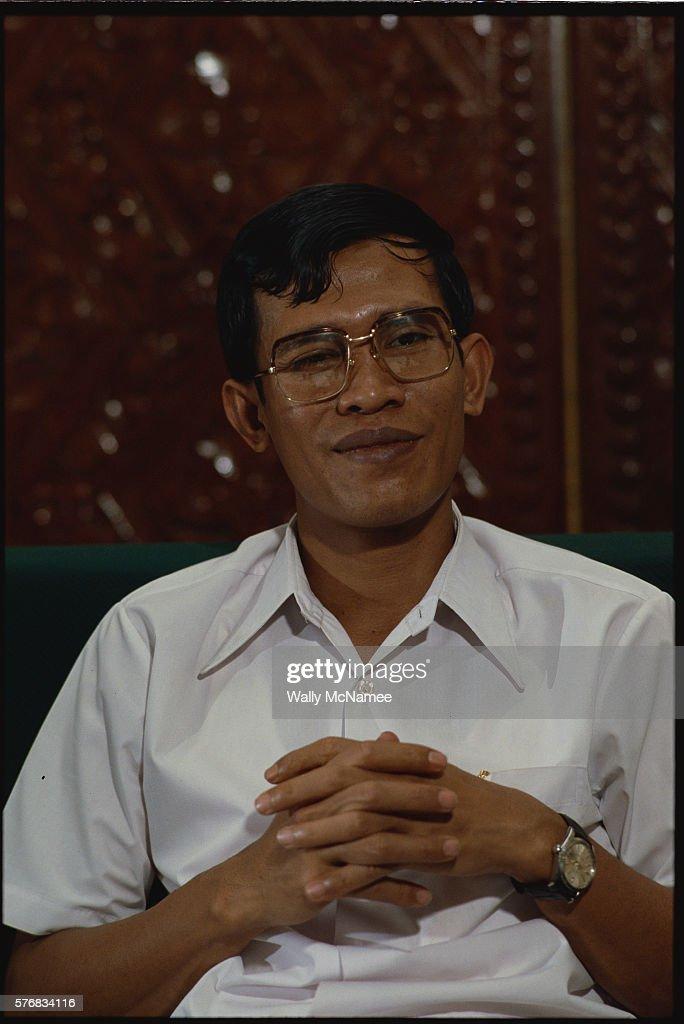 Hun Sen Smiling