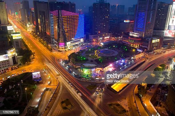 Hunan,Changsha,Lotus Square,