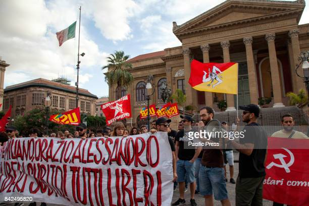 A hundred militants of social centers and Communist Party requested the release of the three Sicilian militants detained in Hamburg after the...