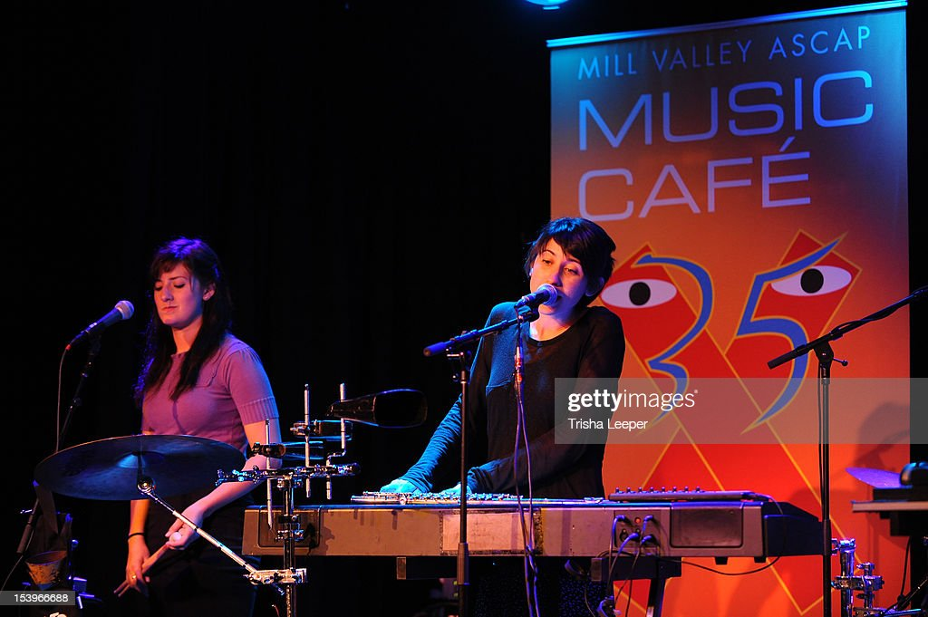Hundred Waters perfom at the Mill Valley ASCAP Music cafe at Sweetwater Music Hall on October 11, 2012 in Mill Valley, California.