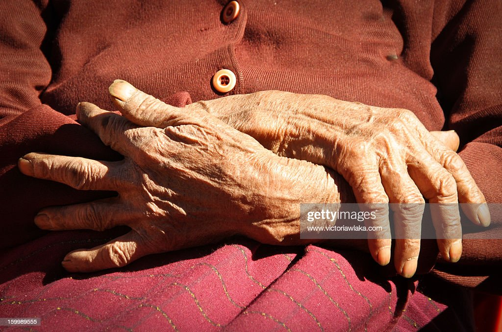 Hundred Year Old Hands