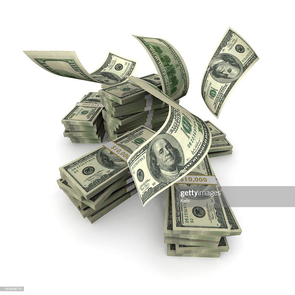 Des centaines de tomber sur Pile d'argent : Photo