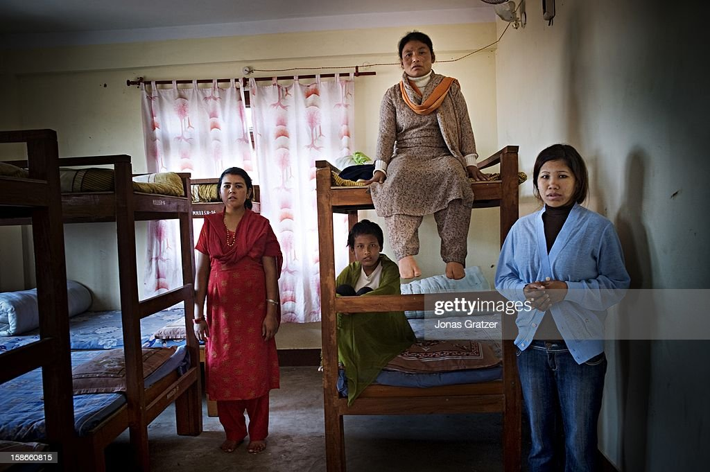 Hundreds of girls and some boys between the ages of 5 and 18 live in the border shelters set up by Maiti Nepal With few posessions and no money they...