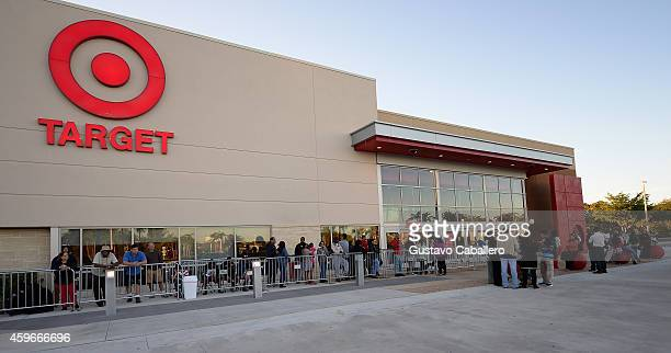 Hundreds of guests shopped for Black Friday doorbuster deals at Target at the Black Friday At Target Dadeland South In Miami at Target Dadeland South...