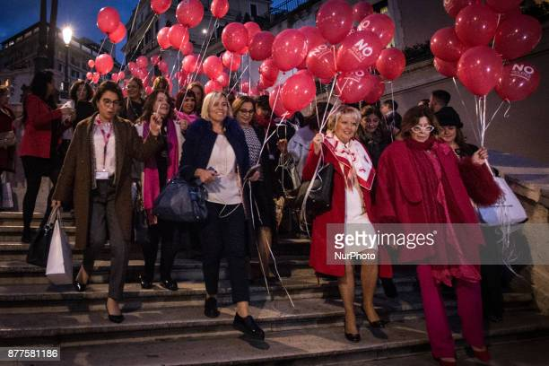Hundreds of managers from about fifty countries around the world have gathered in front of the steps of Trinità dei Monti in Rome Italy on 22...