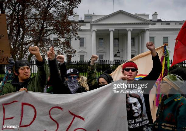 MAR Hundreds of Native Americans and supporters protested the DAPL by taking to DC's streets today They marched from Corp of Engineers building to...