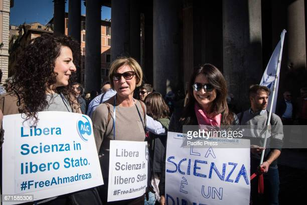Hundreds of people participated in the 2017 Earth Day in Rome under the slogan ' March for Science' It was part of a worldwide day held in many...