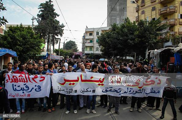 Hundreds of people protest the killing of Socialist Popular Alliance Party activist Shaimaa alSabbagh shot to death during the protests held for the...
