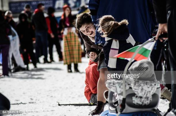 Hundreds people marks Bulgaria's National day and 139 years anniversary of the country's liberation from the Ottoman empire with a mass ski race at...