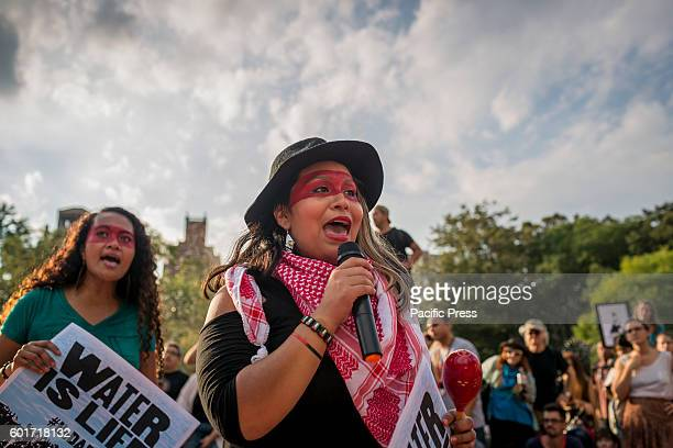 Hundreds Rally for Standing Rock Sioux in New York City in solidarity to stop the Dakota Access Pipeline A federal Judge denied the tribes request...