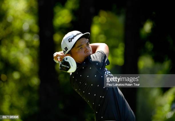 Hung Chien Yao of Chinese Taipei during round four of the Queen's Cup at Santiburi Samui Country Club on June 18 2017 in Bangkok Thailand