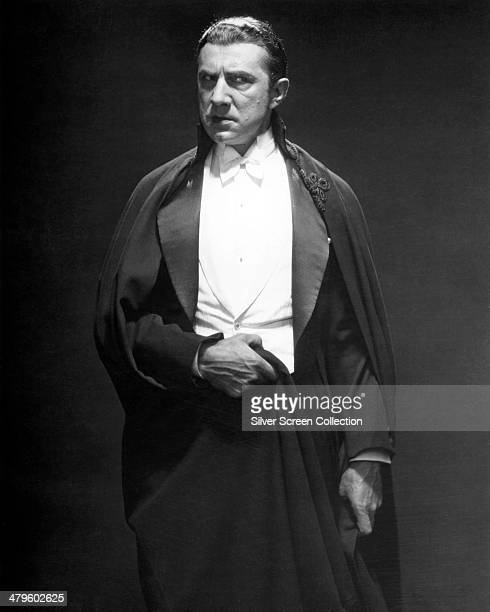 Hungarian actor Bela Lugosi as the vampire Count Dracula in a promotional portrait for 'Dracula' directed by Tod Browning 1931