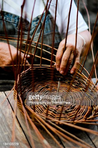 Basket Weaving Nz : Basket weaving stock photos and pictures getty images