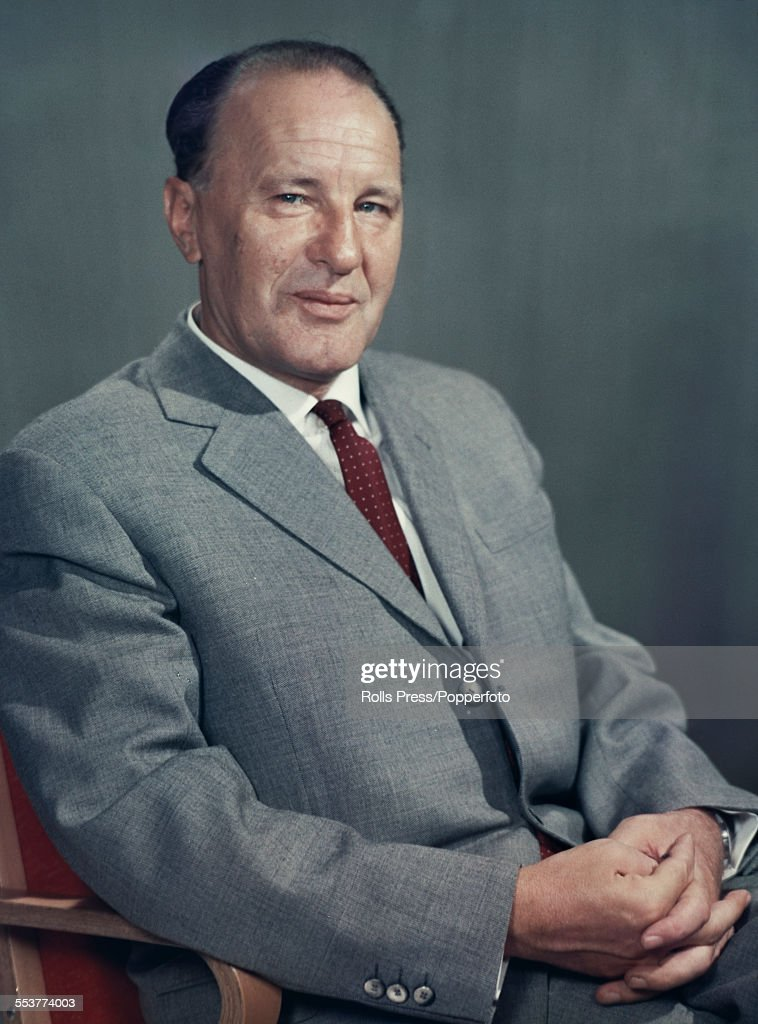 Hungarian communist politician and General Secretary of the Hungarian Socialist Workers' Party, <a gi-track='captionPersonalityLinkClicked' href=/galleries/search?phrase=Janos+Kadar&family=editorial&specificpeople=220957 ng-click='$event.stopPropagation()'>Janos Kadar</a> (1912-1989) posed circa 1965.