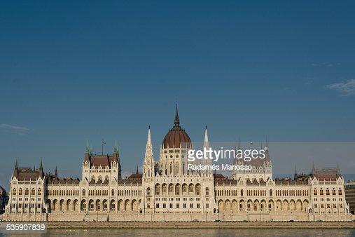 Hungarian parliament : Stock Photo