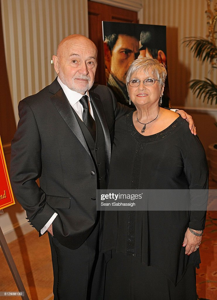 Hungarians in Hollywood hosts Bela Bunyik and wife Bonnie Bunyik attend the Pre-Oscar Hungarians in Hollywood Gala celebrating the Academy Award nominated film Son of Saul at the Peninsula Hotel on February 27, 2016 in Beverly Hills, California.