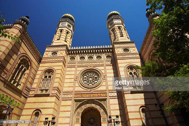 Hungary, Budapest, Great Synagogue, low angle view