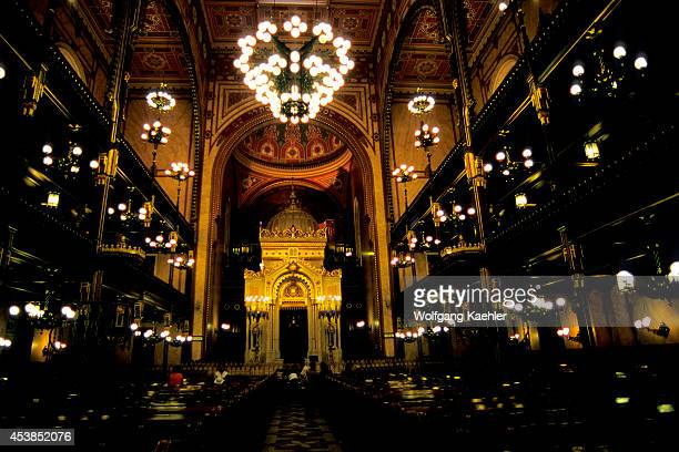 Hungary Budapest The Great Synagogue Interior