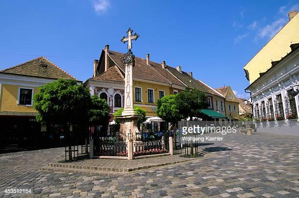 Hungary Near Budapest Szentendre Village Town Square