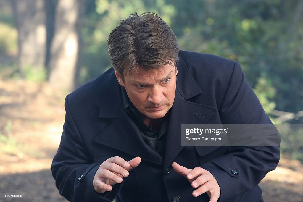 CASTLE - 'Hunt' -- In the powerful conclusion of a two-episode story arc, Castle's efforts on the case suddenly put his own life in danger. Emmy and Golden Globe-winner James Brolin ('The West Wing,' 'Marcus Welby, M.D.') guest stars as Castle's dad, on 'Castle,' MONDAY, FEBRUARY 25 (10:01-11:00 p.m., ET). FILLION