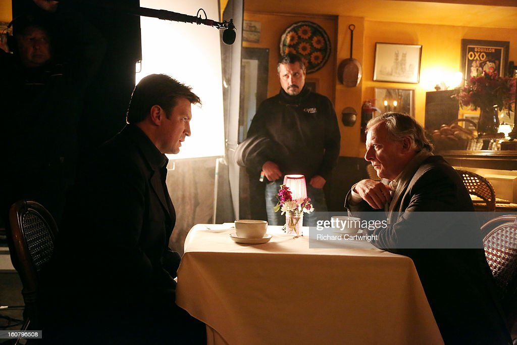 CASTLE - 'Hunt' -- In the powerful conclusion of a two-episode story arc, Castle's efforts on the case suddenly put his own life in danger. Emmy and Golden Globe-winner James Brolin ('The West Wing,' 'Marcus Welby, M.D.') guest stars as Castle's dad, on 'Castle,' MONDAY, FEBRUARY 25 (10:01-11:00 p.m., ET). , CHRISTOPHER