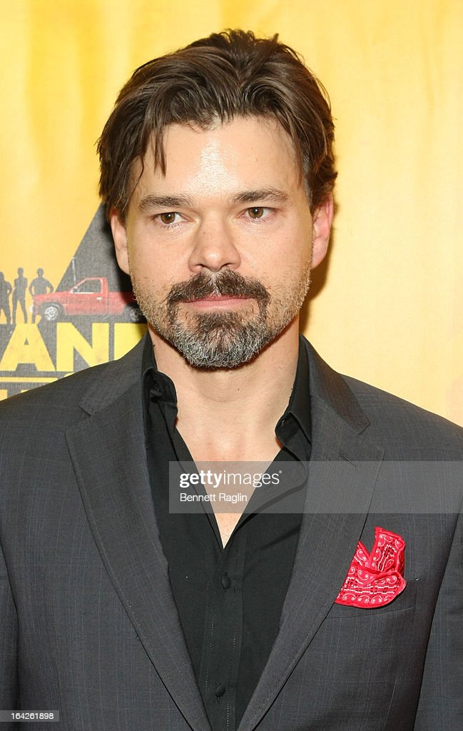 Hunter Foster attends 'Hands On A Hard Body' Broadway opening night after party at Roseland Ballroom on March 21, 2013 in New York City.